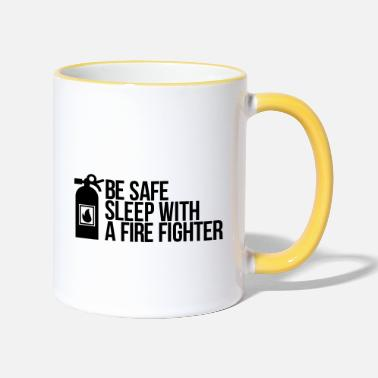 Fighter fire fighter - Two-Tone Mug