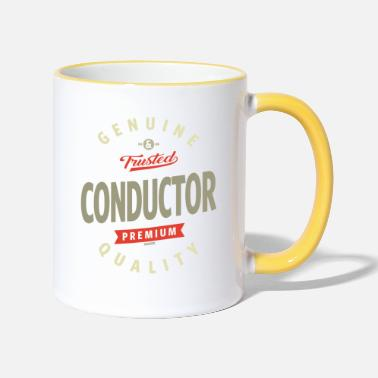 Conductor Conductor - Two-Tone Mug