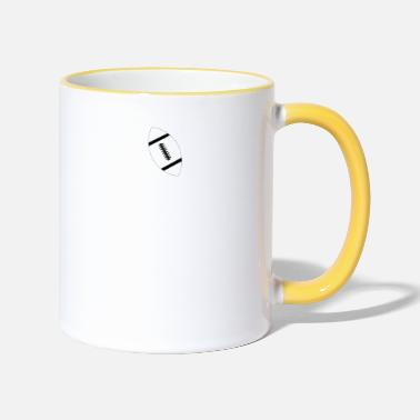 I love American Football - Limited Edition. - Two-Tone Mug