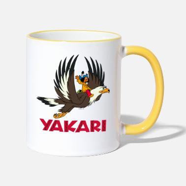 Officialbrands Yakari sur Grand-Aigle - Mug bicolore