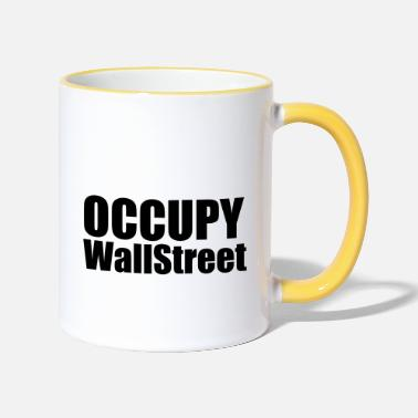 Occupy Occupy - Mok tweekleurig