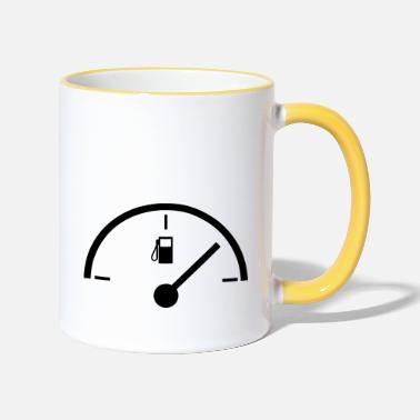 Indicator fuel indicator - Two-Tone Mug