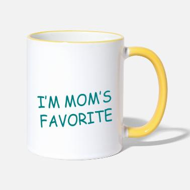 I am the baby present - Two-Tone Mug