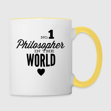 Best philosopher of the world - Contrasting Mug