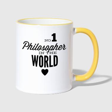Philosopher Best philosopher of the world - Contrasting Mug