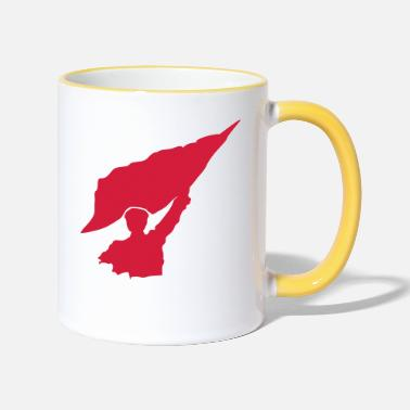 Rebel Flag Flag rebel flag icon - Two-Tone Mug
