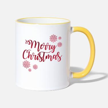 Noël Merry Christmas - Mug bicolore