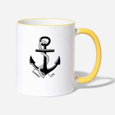 Anchor Summer Love - Summer love - Two-Tone Mug