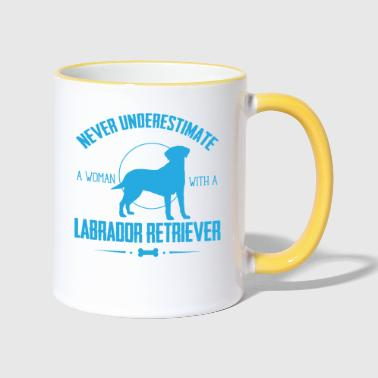 Labrador Retriever Shirt NU - Mok tweekleurig