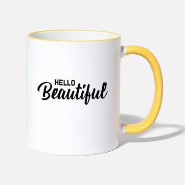 Hello Hello Beautiful - Two-Tone Mug
