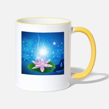 Blasen Wonderful lilie of water - Two-Tone Mug