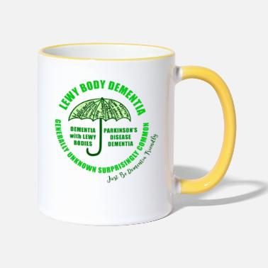 Lewy Body Dementia - Two-Tone Mug