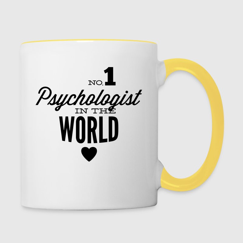 Best psychologist in the world - Contrasting Mug