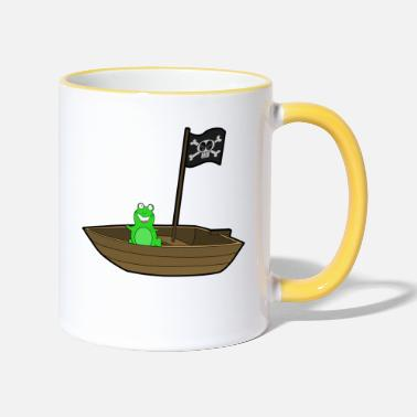 bateau pirate bateau bateau pirate Skull1 - Mug bicolore