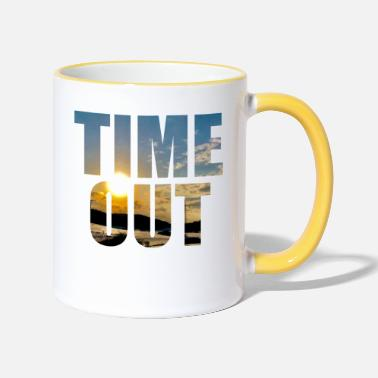Time Out Time out time out - Two-Tone Mug