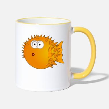 Blowfish blowfish - Two-Tone Mug