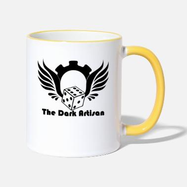 War Black logo - Two-Tone Mug