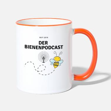 Podcast De bij-podcast - Mok tweekleurig