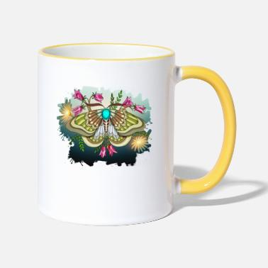 Moths Moth, Moth - Two-Tone Mug
