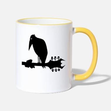 Metalheads The metalheads Crow - Two-Tone Mug