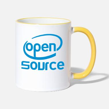 Open Source Open source Intel - Mug bicolore