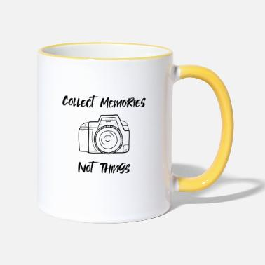 Collect Memories Collect memories - Two-Tone Mug