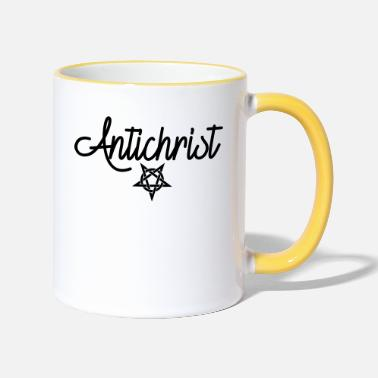 Satire Antichrist Satire - Mug bicolore