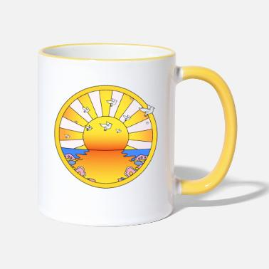 Hallucinogen LSD California Orange Sunshine - Two-Tone Mug