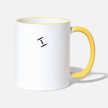 I love Football - Limited Edition. - Two-Tone Mug