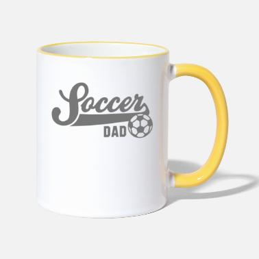 Football Underwear Soccer DAD - Two-Tone Mug