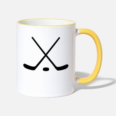 Hockey Stick Hockey Sticks - Two-Tone Mug