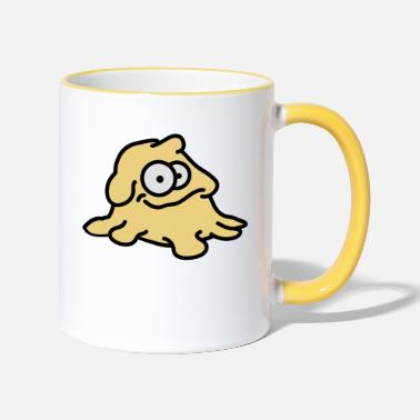 Dough Dough Monster - Two-Tone Mug