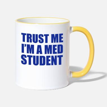 Students Med Student - Mug bicolore