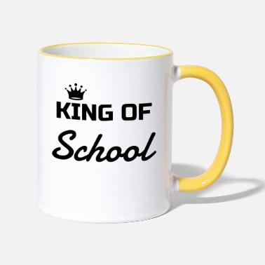 Schoolkid School Schule Ecole Schoolkid College Lycée - Two-Tone Mug