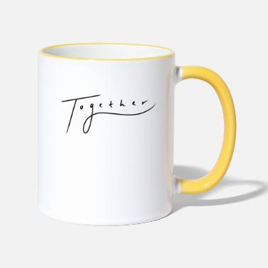 Together Together // Together - Two-Tone Mug