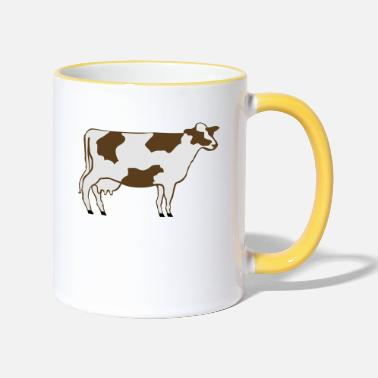Dairy Cow Dairy Cow - Two-Tone Mug
