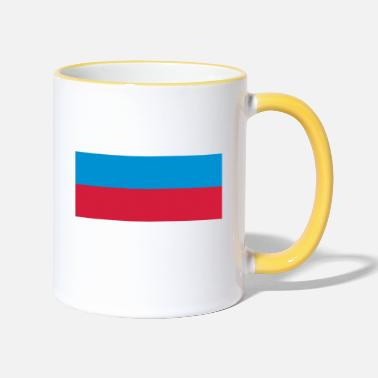 Holland russia flag - Mok tweekleurig