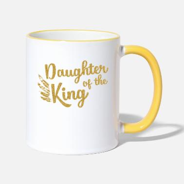 King Daughter of the King - Two-Tone Mug
