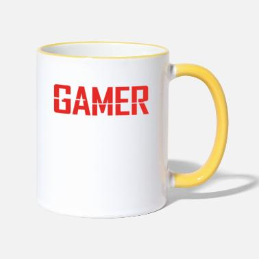 Soldier Of Fortune .png gamer - Mug bicolore