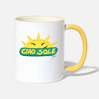 Sole Ciao Sole - Two-Tone Mug