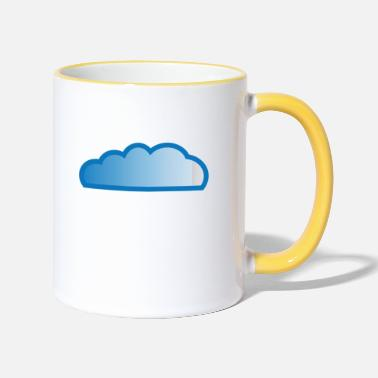 Cloud Cloud / cloud - Two-Tone Mug