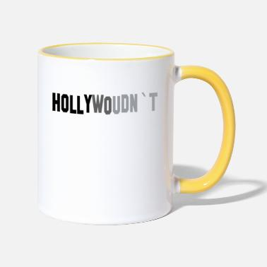 Hollywood Hollywood - Tvåfärgad mugg