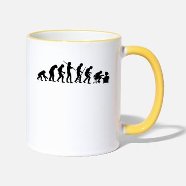 Development Course evolution - Two-Tone Mug