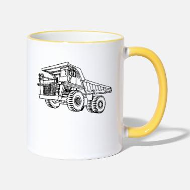Vehicle vehicle - Two-Tone Mug