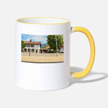 Beautiful landscape. Beautiful photo - Two-Tone Mug