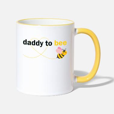 Daddy To Be Daddy To Bee - Two-Tone Mug