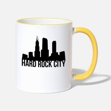 Rock hard rock - Two-Tone Mug