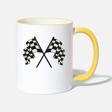 Flag flags - Mug bicolore