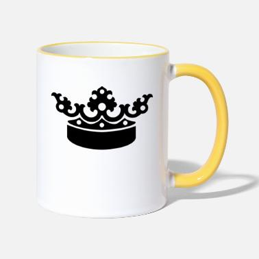 Crown Crown - Two-Tone Mug