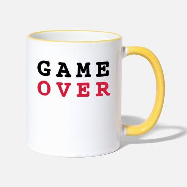 Game Over Game Over - Mug bicolore